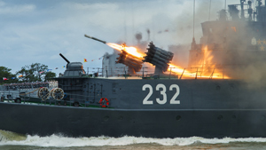 The power and beauty of the Baltic fleet