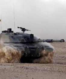 Main striking power of the British Royal Tank Regiments