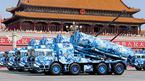Victory Parade in Beijing, China