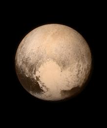 Sunset on Pluto