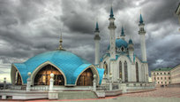 During Eid Al-Adha Muslim festival, we offer you to take a look at Kul Sharif Mosque - the main Juma Mosque of Tatarstan and Kazan. Thre mosque is located on the territory of the Kazan Kremlin