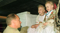 Rare and never-before-seen photos of Vladimir Putin
