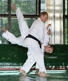 Rare and never-before-seen photos of Vladimir Putin