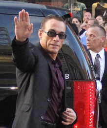 Jean Claude Van Damme rocks at 52